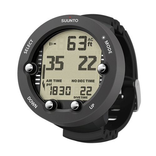 SUUNTO Vyper Novo Wrist Computer with USB Cable, White, Without Transmitter