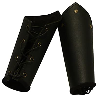 Armor Venue: Knights Leather Battle Arm Bracers Armour