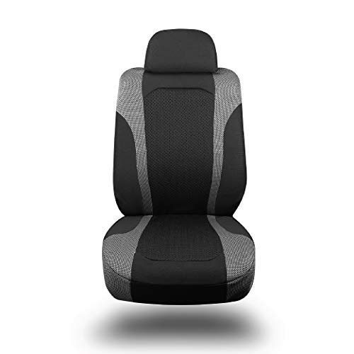 (Type S SC57150-20 Black Flex Cover | Universal Super Stretch Breathable Knit Install | Secure Fit | All Season Comfort | Car Truck SUV Van Seat Protector | Easy Care Machine Washable )