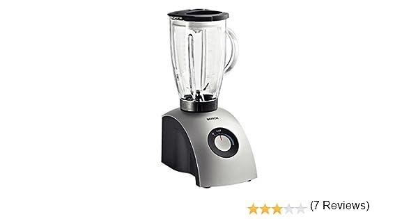 Bosch MMB2001 - Batidora de vaso, 600 W, jarra de vidrio, 1,75 litros, color plata: Amazon.es: Hogar