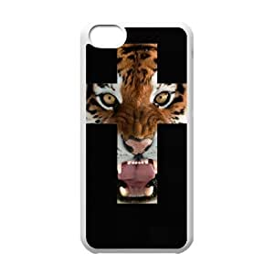 Tiger Roar Cross ZLB514306 Customized Case for Iphone 5C, Iphone 5C Case
