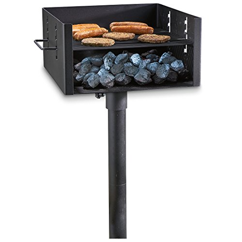 Guide Gear Heavy Duty Park Style Charcoal Grill
