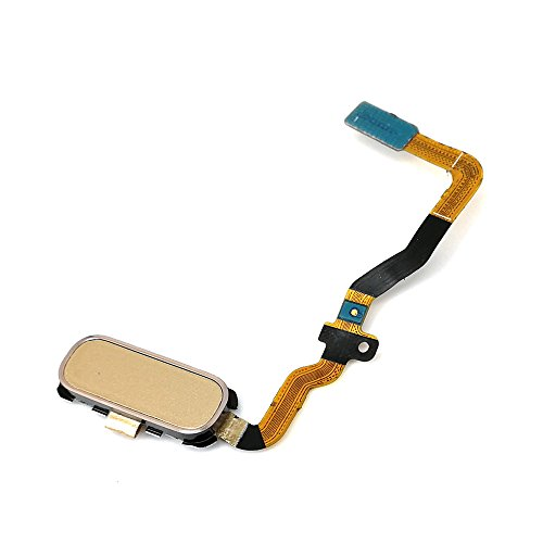 E-REPAIR Home Button Finger Touch Sensor Key Flex Cable Replacement Kit for Samsung Galaxy S7 G930 (Gold)
