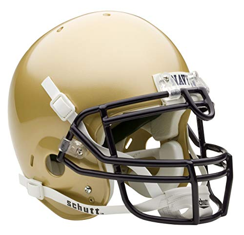 NCAA Navy Authentic XP Football Helmet