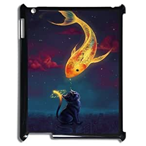 Customized Durable Case for Ipad 2,3,4, Fish love Phone Case - HL-R686345