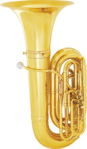 King 2341W Series 4-Valve 4/4 BBb Tuba (2341W Lacquer With Case) by KING
