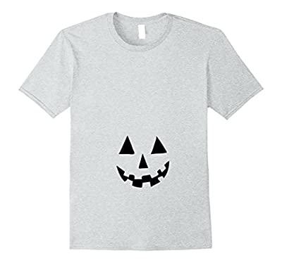 Pregnant Pumpkin Belly T shirt for Halloween Costume