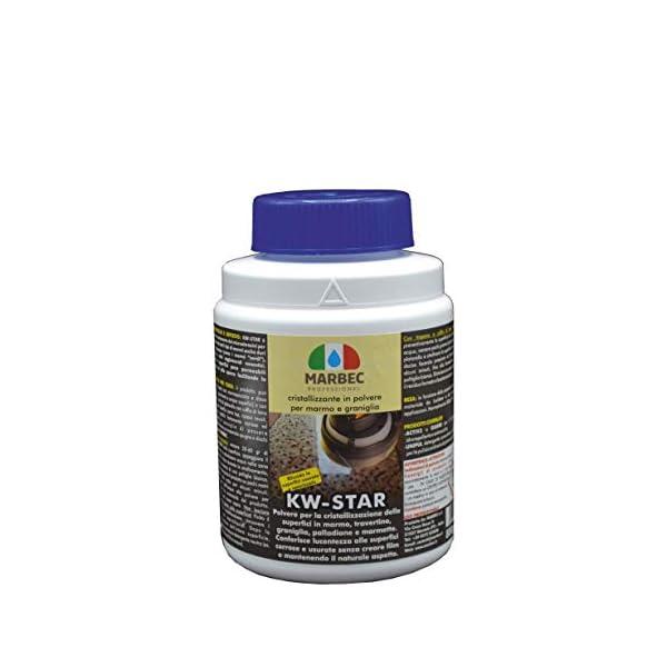 Marbec-KW-Star-800GR-Cristallizzante-in-Polvere-per-Marmo-e-graniglie