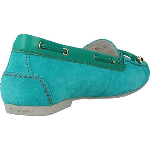 Mocasines para mujer, color Azul , marca STONEFLY, modelo Mocasines Para Mujer STONEFLY ELENA 56D Azul Azul