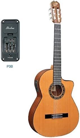 Admira (Malaga) Electrificada Cutaway (Pre-Amp: Shadow P3B.) Guitarra clásica