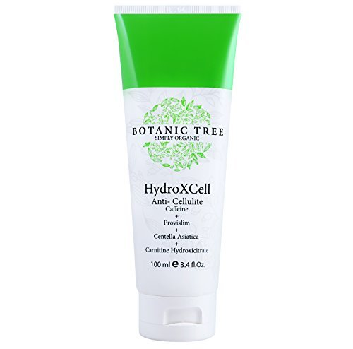 HydroXcell Anti Cellulite Cream -Decrease Cellulite in 92% of Customers after 2 months-Proven Results-100% Organic Extract Cellulite Cream Remover w/Caffeine, Centella Asiatica,and Gingko.