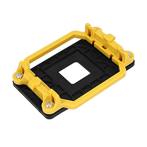 uxcell CPU Retention Bracket Base Yellow for AMD Socket AM2 940