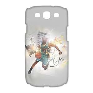Custom Chris Paul Hard Back Cover Case for Samsung Galaxy S3 CL1101 Kimberly Kurzendoerfer