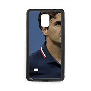Roger Federer Samsung Galaxy Note 4 Cell Phone Case Black DIY Present pjz003_6599589