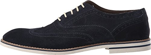 Dune London Para Hombre Beattie Navy Suede