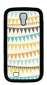 TUTU158600 Hard Back Shell Case Cover galaxy s4 cases - Aztec zigzag stripes