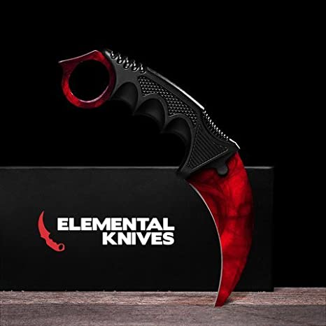 Amazon.com: Elemental cuchillos Karambit rubí Doppler: Home ...
