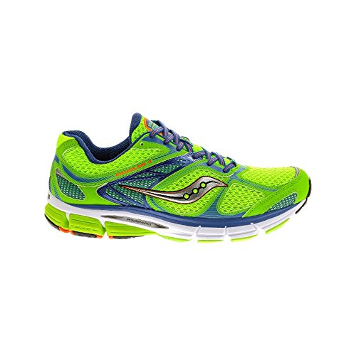 Saucony Zapatilla Echelon 4 Slime-Blue-Orange Talla 8 USA