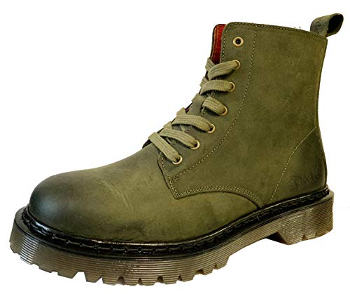 Rifle Leather Oak Hyde Brixton 7 Ankle amp; Green Boots PqpPf