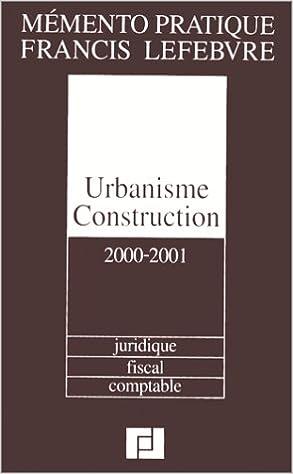 Lire un Mémento Urbanisme Construction epub pdf