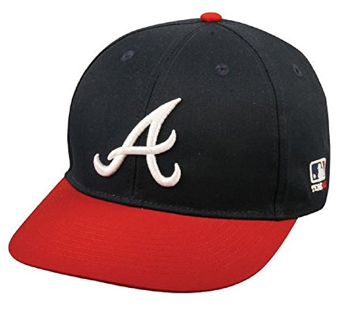 Mlb Replica Cap - Atlanta Braves Youth MLB Licensed Replica Caps / All 30 Teams, Official Major League Baseball Hat of Youth Little League and Youth Teams