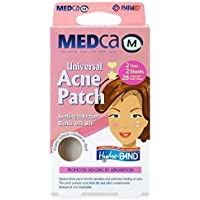 Acne Patch - (Pack of 56) Pimple Spot Treatment Hydrocolloid Bandages Absorbing Zit Cover Dots, Heart And Star Shapes by MEDca
