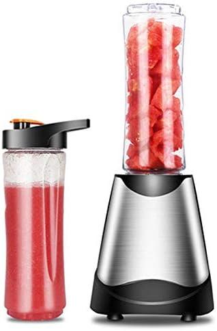 Exprimidor, licuadora casera de frutas, mini exprimidor de acero inoxidable, exprimidor de salud, máquina de uicer de frutas y verduras de nutrición multifuncional