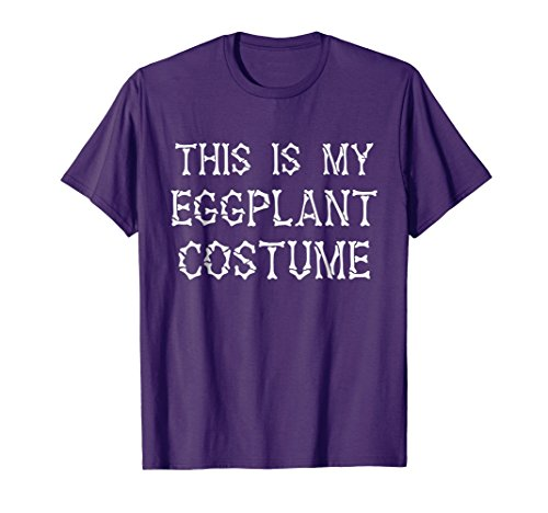 This is my Eggplant Costume T-Shirt Halloween -