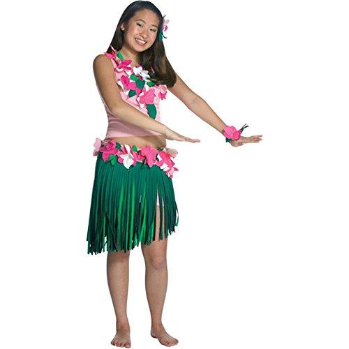 Teen Hula Girl Halloween Costume (Teen (Hula Halloween Costumes)