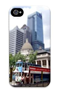 Tour Bus Custom iPhone 4/4S Case Cover ¨C Polycarbonate