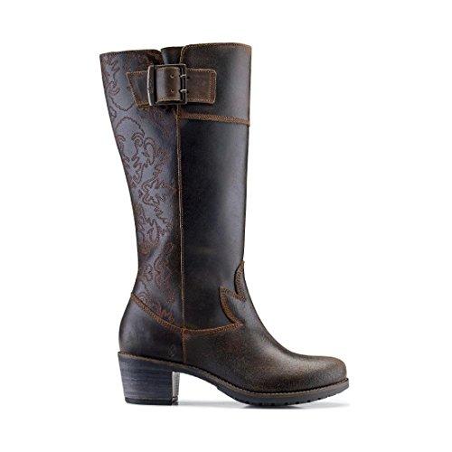 Olukai Emalani Boot - Dames Donkere Schaduw / Donkere Schaduw