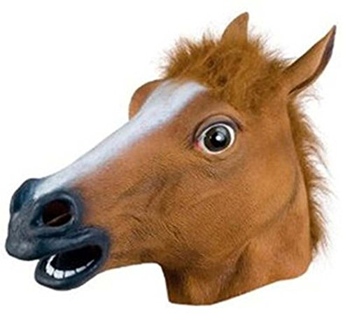Accoutrements Horse Head Mask (Scream Halloween Store)