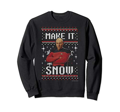 Star Trek Next Generation Make It Snow Christmas