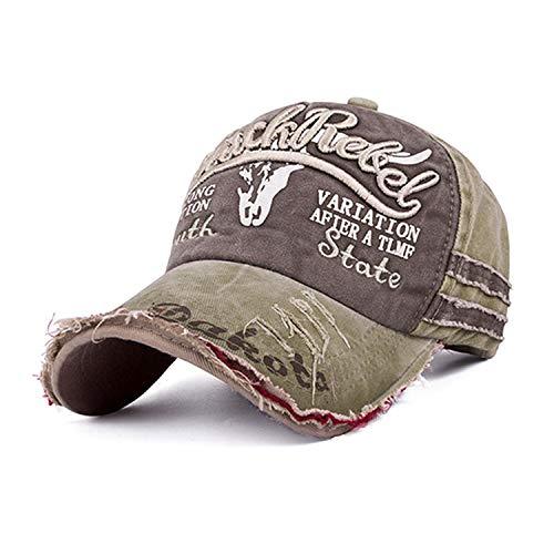 排泄するジェームズダイソンコントラスト野球帽 男性女性ビンテージ 野球帽 子供キッズカセット 親子帽子,アダルトEの場合,