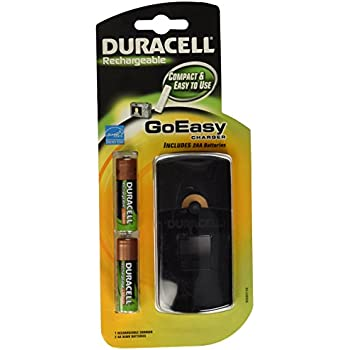 Amazon.com: Duracell GoEasy Charger/Rechargable/Includes 2