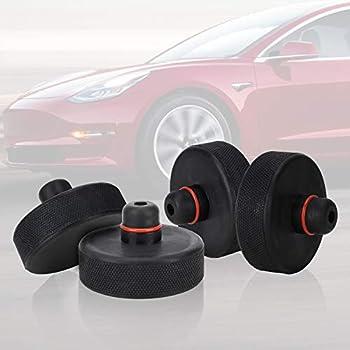 SET OF 4 SILVER Tesla Model X Jack Pad Adapter Lift Pad Murphy/'s Law Jack Pads