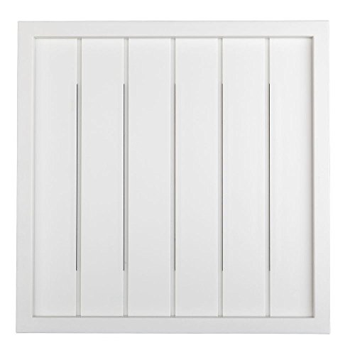 Hampton Bay - Wireless or Wired Door Bell, White Bead Board