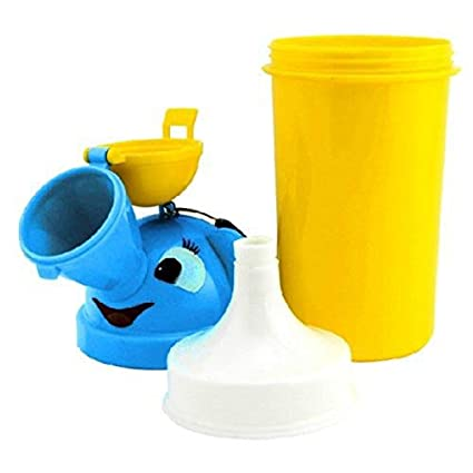 Portable Baby Child Potty Urinal Reusable Pee Training Cup Emergency Toilet for Camping Car Travel for Boys /& Girls /… Pink
