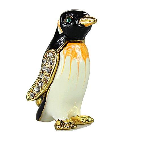 Bejeweled Enameled Miniature Penguin (Bejeweled Miniature)
