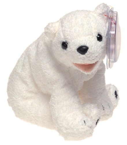 (Ty Beanie Babies Aurora - Polar Bear)