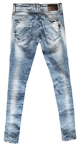 W706 Jeans Blue Femme Zhrill Femme Blue Jeans Zhrill W706 7Z44tWrH