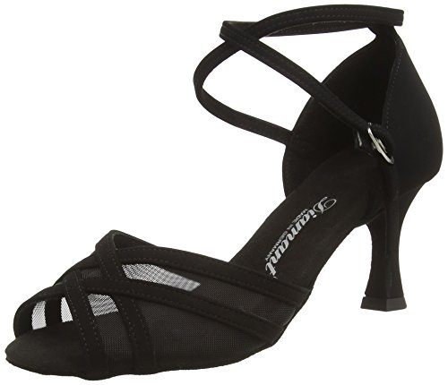 087 Black 035 Ballroom Diamant Shoes 040 Dance Women's Upgwq4