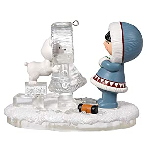 Best Epic Trends 414RPpzht4L._SS300_ Hallmark Keepsake Christmas Ornament 2020 Year-Dated, Frosty Friends