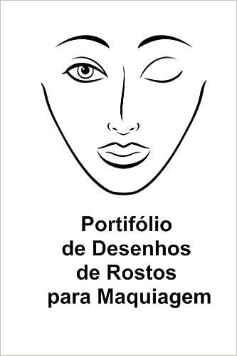 Portifolio De Desenhos De Rostos Para Maquiagem Amazon Co Uk