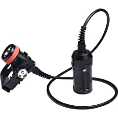 The Orca Torch D620 is a primary canister dive light specially designed for scuba and cave diving. The light head is connected by a cable to the battery canister. The newly designed switch can be locked when rotated 90° degrees, which not onl...