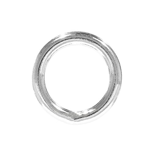 - PARACORD PLANET Welded Steel O-Ring – 3/4 inch, 1 inch, 1 ¼ inch, 1 ½ inch – Multiple Pack Sizing - Webbing, Strapping, Binding