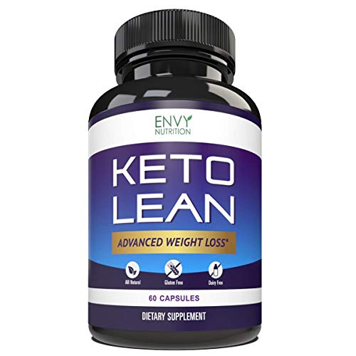 Keto Lean Diet Pills - Advanced Weight Loss - BHB Salts Burn Fat, Support Ketosis, Boost Energy and Enhance Focus