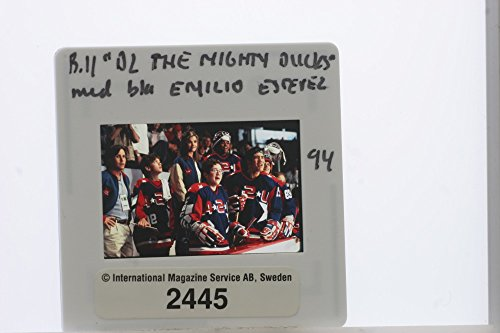 Slides photo of The Mighty Ducks is a series of three live-action films released in the 1990s ()