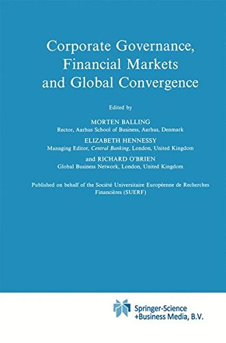 Corporate Governance  Financial Markets And Global Convergence