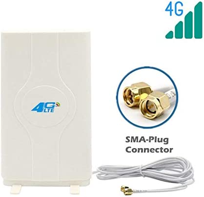 40dBi 4G LTE Booster Ampllifier MIMO WiFi Antenna Support ALL SMA Type device